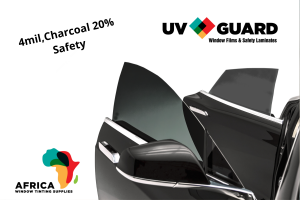 UV Guard Safety 4Mil Charcoal 20% Automotive