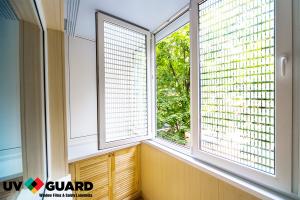 UV Guard Decorative White Blinds 4mm x 4mm